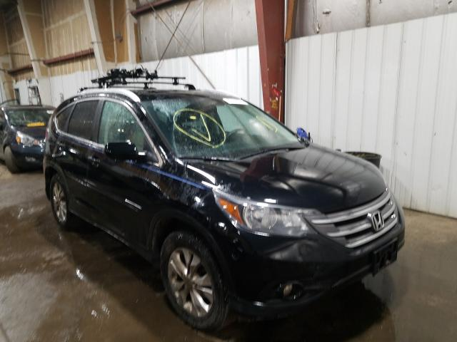 Salvage cars for sale from Copart Anchorage, AK: 2014 Honda CR-V EXL