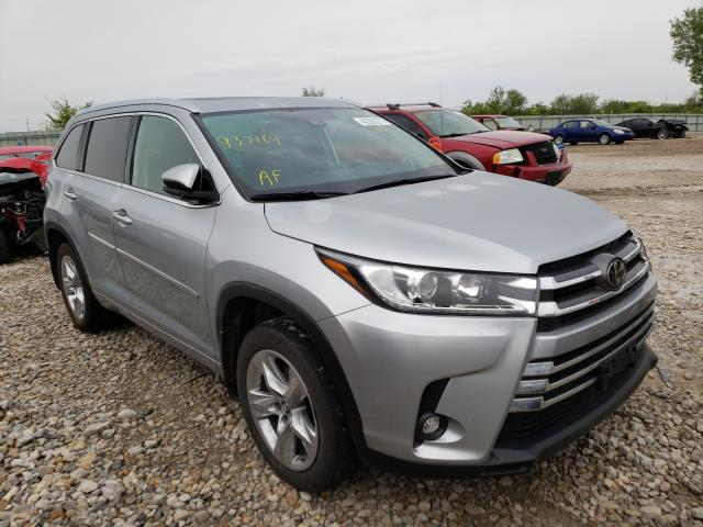 Salvage cars for sale from Copart Kansas City, KS: 2019 Toyota Highlander