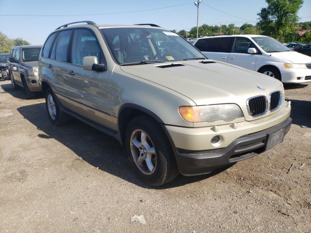 Salvage cars for sale from Copart Baltimore, MD: 2001 BMW X5 3.0I