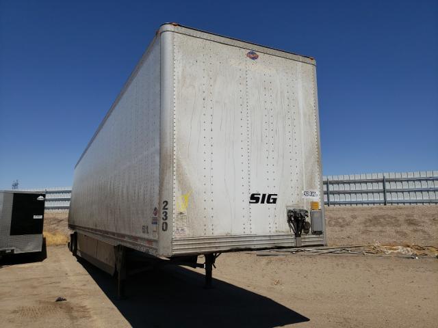 Utility DRY Van salvage cars for sale: 2013 Utility DRY Van