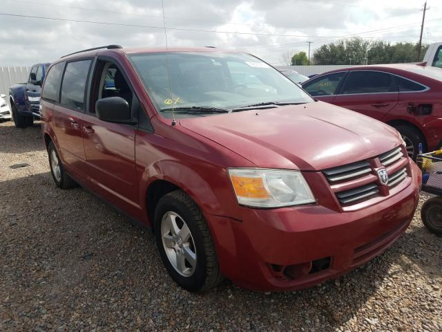 Salvage cars for sale from Copart Mercedes, TX: 2009 Dodge Grand Caravan