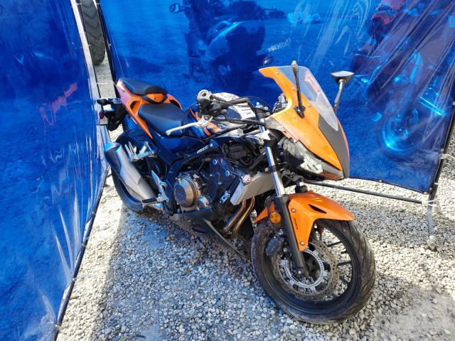 Salvage cars for sale from Copart Spartanburg, SC: 2017 Honda CBR500 RA