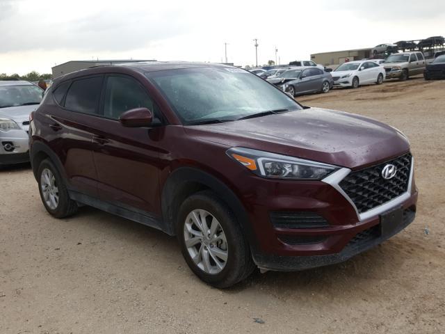 Salvage cars for sale from Copart San Antonio, TX: 2020 Hyundai Tucson SE