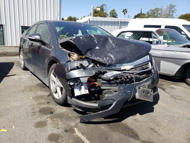 Salvage cars for sale from Copart Vallejo, CA: 2014 Chevrolet Volt