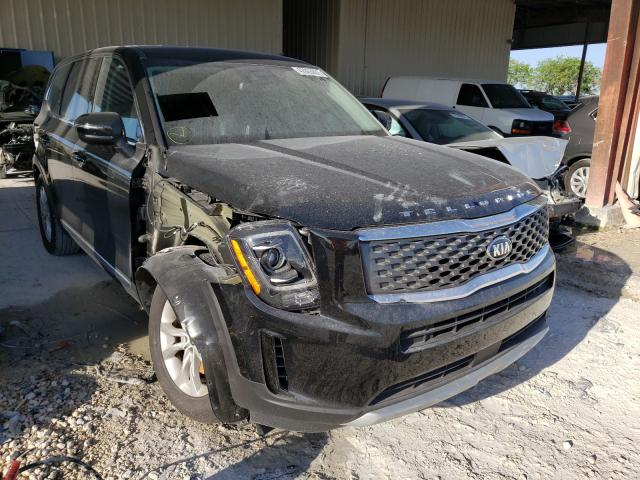 Salvage cars for sale from Copart Homestead, FL: 2020 KIA Telluride