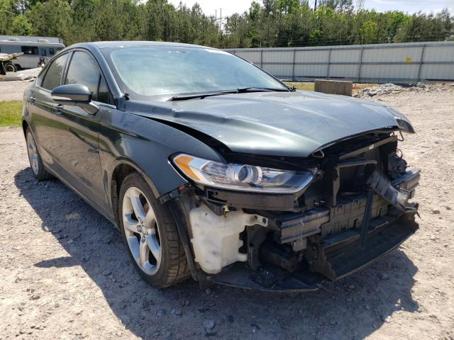 Salvage 2015 FORD FUSION - Small image. Lot 41524791