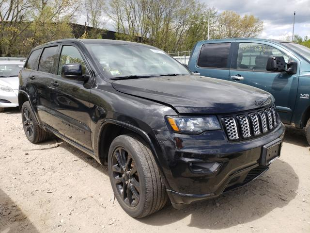 Salvage cars for sale from Copart North Billerica, MA: 2018 Jeep Grand Cherokee