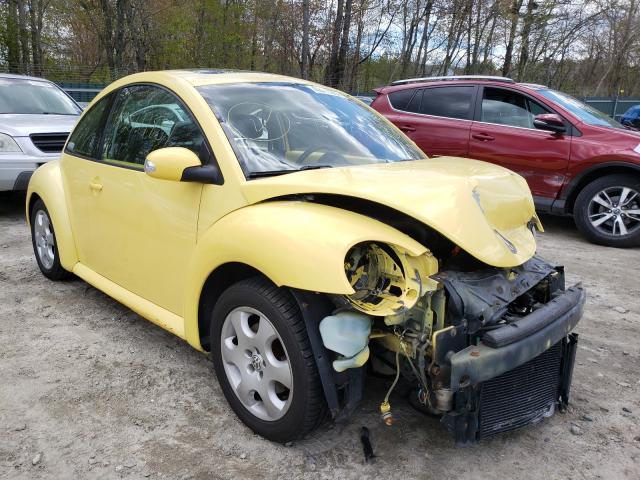 Volkswagen salvage cars for sale: 2003 Volkswagen New Beetle