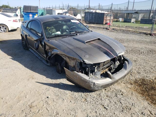 Salvage cars for sale from Copart San Martin, CA: 2002 Ford Mustang GT