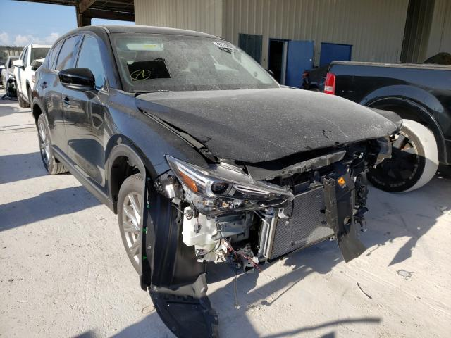 Mazda salvage cars for sale: 2021 Mazda CX-5 Grand Touring