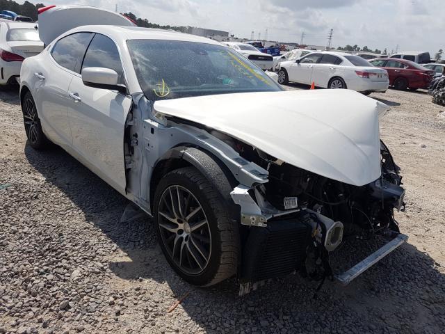 Vehiculos salvage en venta de Copart Houston, TX: 2014 Maserati Ghibli