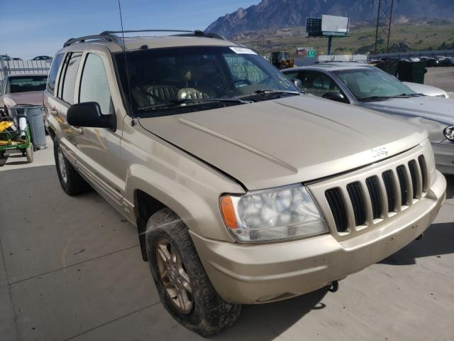 Salvage cars for sale from Copart Farr West, UT: 2000 Jeep Grand Cherokee