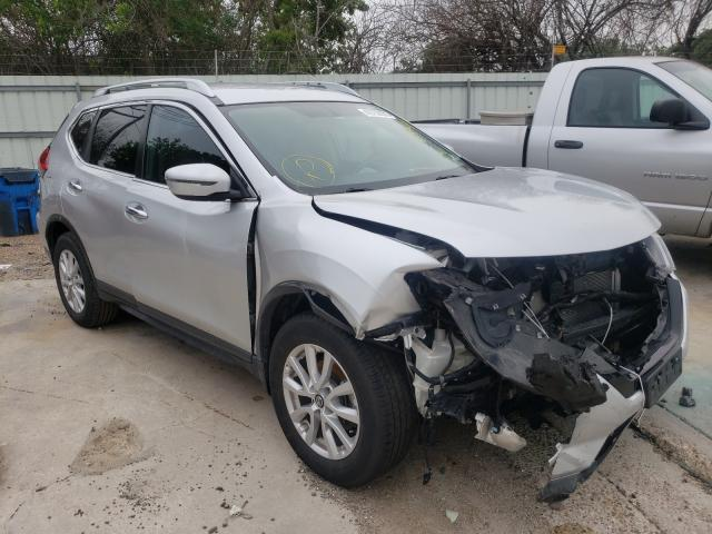 Salvage cars for sale from Copart Corpus Christi, TX: 2017 Nissan Rogue S