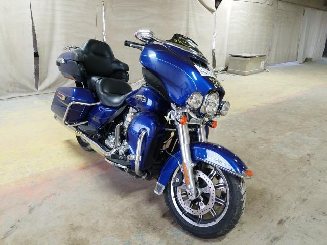 Salvage cars for sale from Copart Indianapolis, IN: 2016 Harley-Davidson Flhtcu ULT