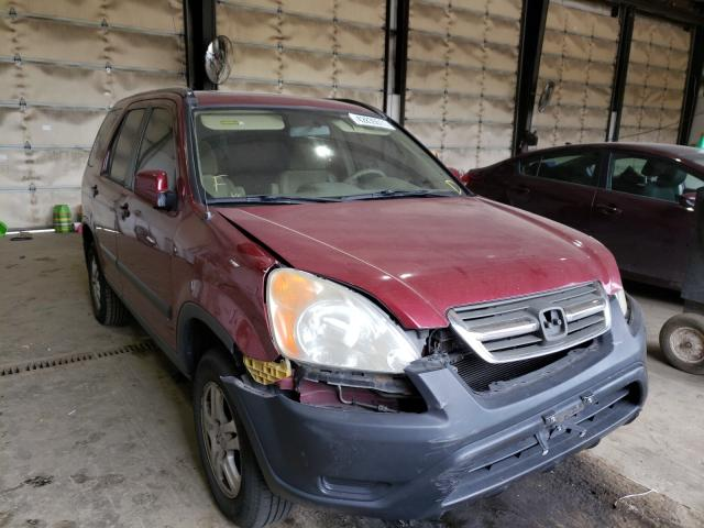 Salvage cars for sale from Copart Graham, WA: 2004 Honda CR-V EX