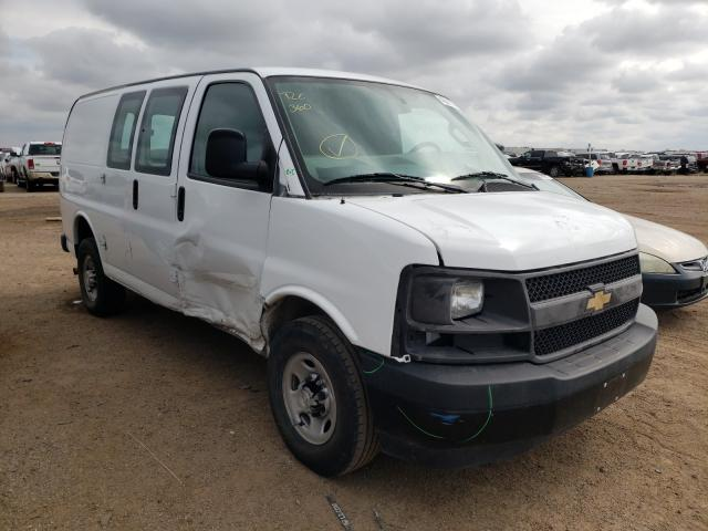 Salvage cars for sale from Copart Amarillo, TX: 2017 Chevrolet Express G2