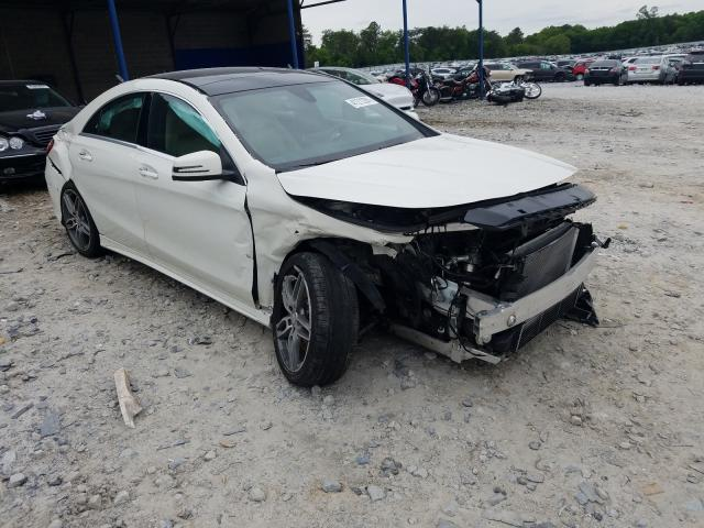 Salvage cars for sale from Copart Cartersville, GA: 2017 Mercedes-Benz CLA 250