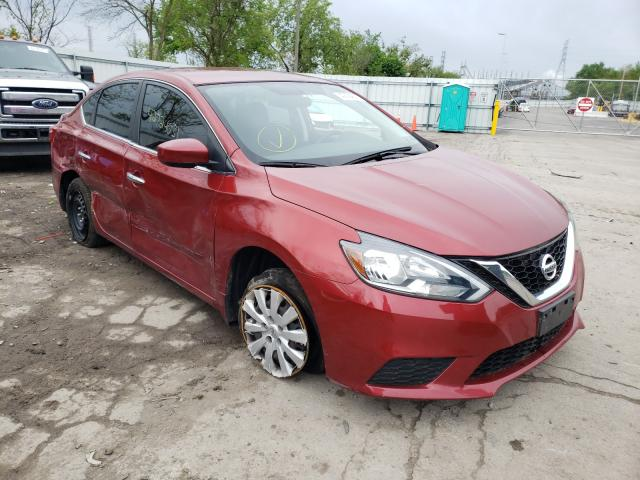 2016 NISSAN SENTRA S 3N1AB7APXGY325793