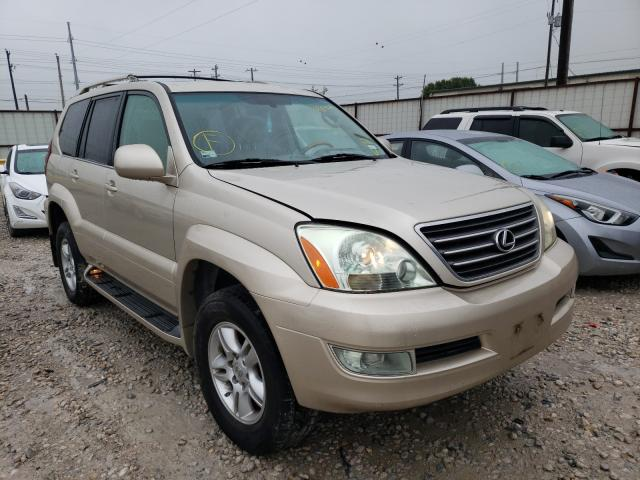 Salvage cars for sale from Copart Haslet, TX: 2006 Lexus GX 470
