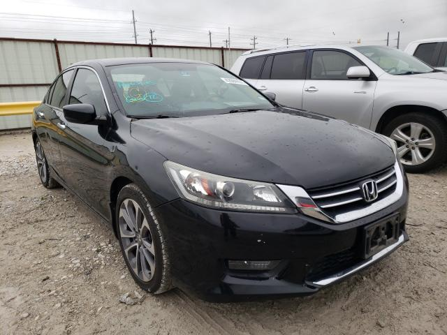 Salvage cars for sale from Copart Haslet, TX: 2014 Honda Accord Sport