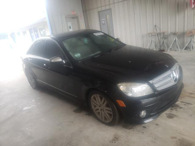Salvage cars for sale from Copart Florence, MS: 2009 Mercedes-Benz C300
