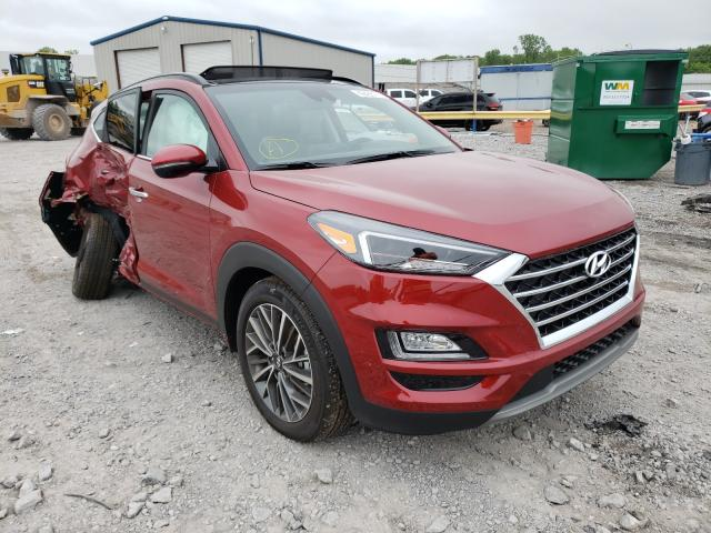 Salvage cars for sale from Copart Hueytown, AL: 2021 Hyundai Tucson Limited