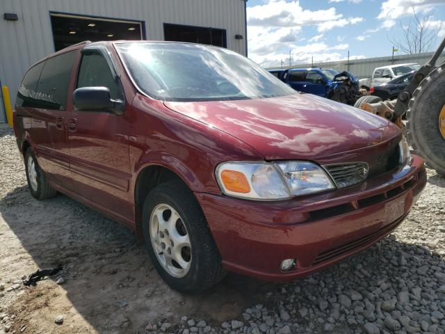 Oldsmobile salvage cars for sale: 2001 Oldsmobile Silhouette