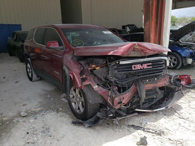 Salvage cars for sale from Copart Homestead, FL: 2018 GMC Acadia SLE