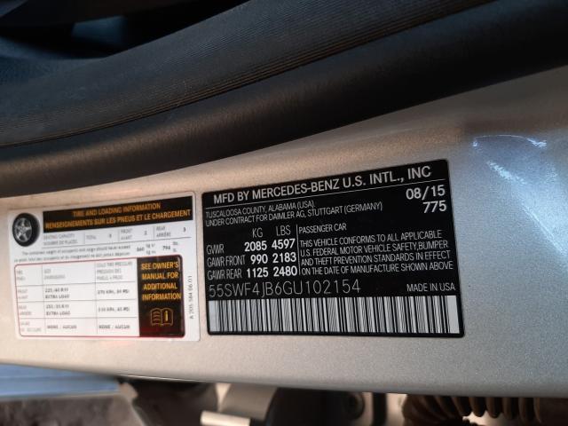 2016 MERCEDES-BENZ C 300 55SWF4JB6GU102154
