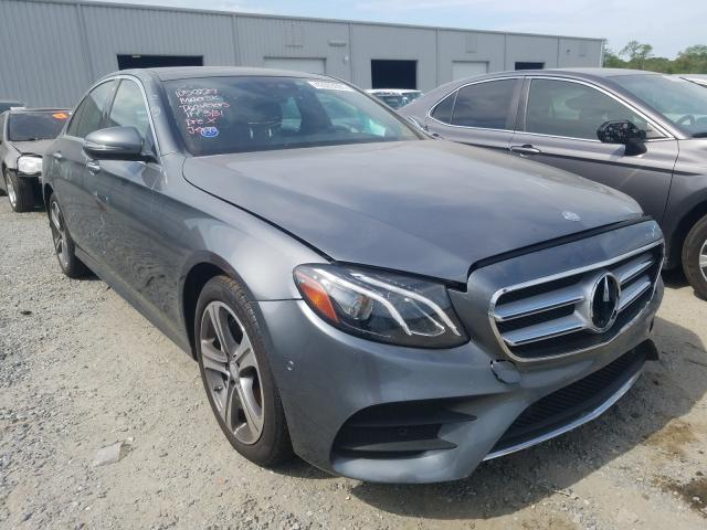 Salvage cars for sale from Copart Jacksonville, FL: 2017 Mercedes-Benz E 300 4matic
