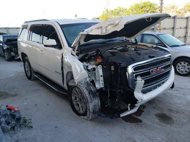 Salvage cars for sale from Copart Homestead, FL: 2017 GMC Yukon SLT