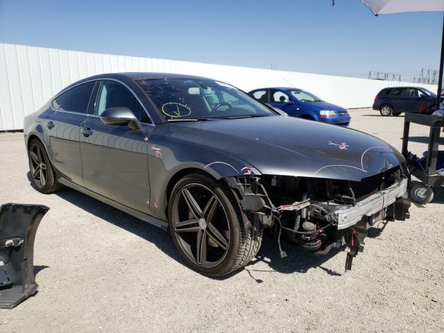 Salvage cars for sale from Copart Adelanto, CA: 2012 Audi A7 Prestige
