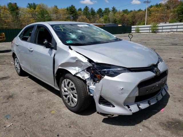 Salvage cars for sale from Copart Exeter, RI: 2018 Toyota Corolla L
