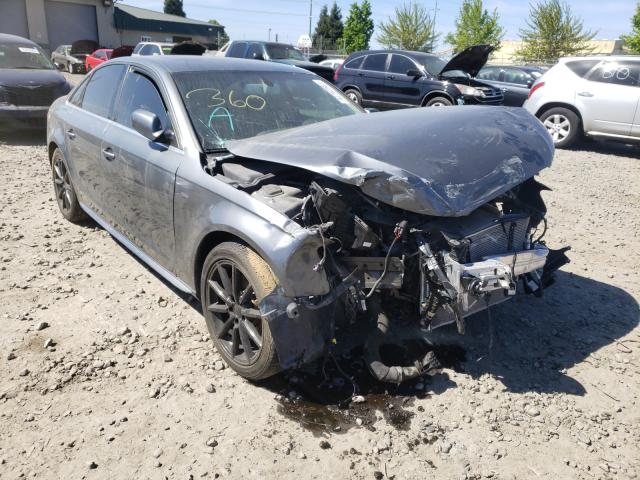 Audi A4 salvage cars for sale: 2016 Audi A4