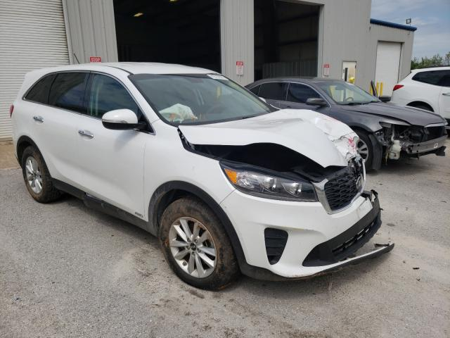 Salvage cars for sale from Copart Rogersville, MO: 2019 KIA Sorento LX
