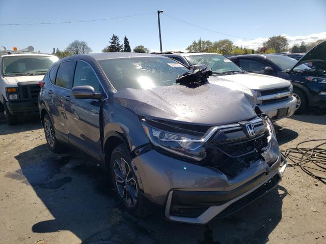 Salvage cars for sale from Copart Cudahy, WI: 2021 Honda CR-V EXL