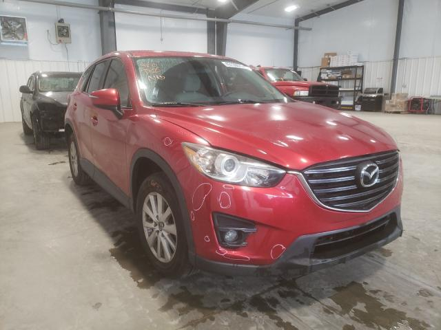 Salvage cars for sale from Copart Lumberton, NC: 2016 Mazda CX-5 Touring