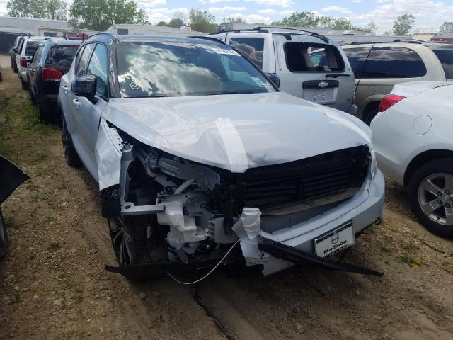 Salvage cars for sale from Copart Madison, WI: 2021 Volvo XC40 Recha