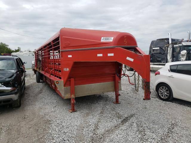 Other Horse Trailer salvage cars for sale: 2015 Other Horse Trailer