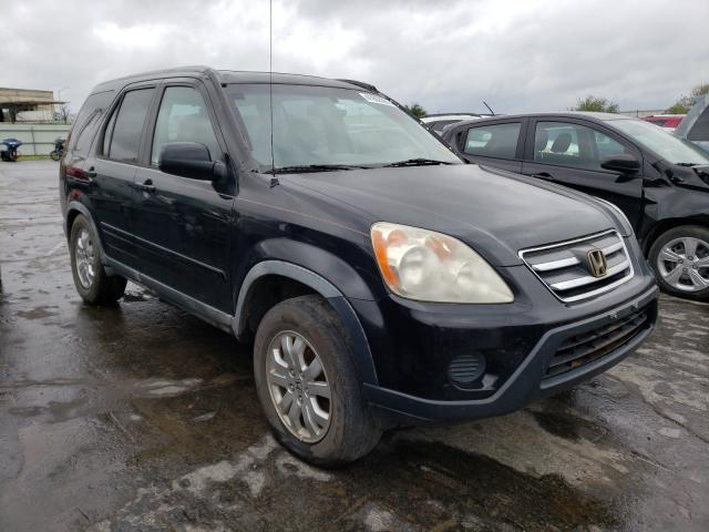 Salvage cars for sale from Copart Tulsa, OK: 2005 Honda CR-V SE