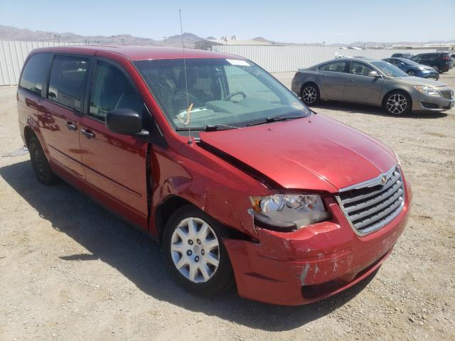 Salvage cars for sale at Las Vegas, NV auction: 2008 Chrysler Town & Country