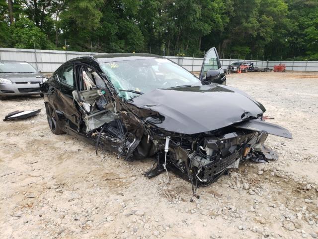 Nissan Vehiculos salvage en venta: 2021 Nissan Sentra SR