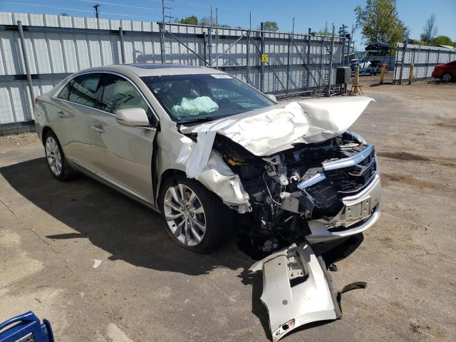 Salvage cars for sale from Copart Columbia Station, OH: 2016 Cadillac XTS Luxury