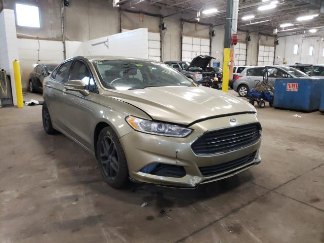Salvage cars for sale from Copart Blaine, MN: 2013 Ford Fusion SE