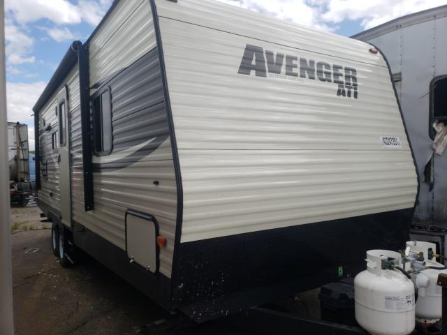 Avenger salvage cars for sale: 2017 Avenger Trailer
