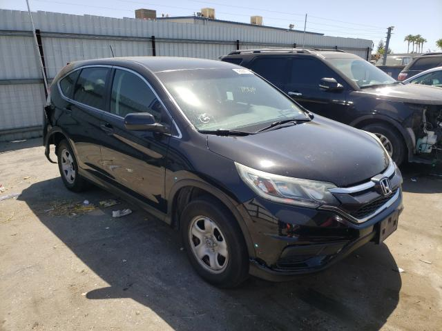 Salvage cars for sale from Copart Bakersfield, CA: 2015 Honda CR-V LX