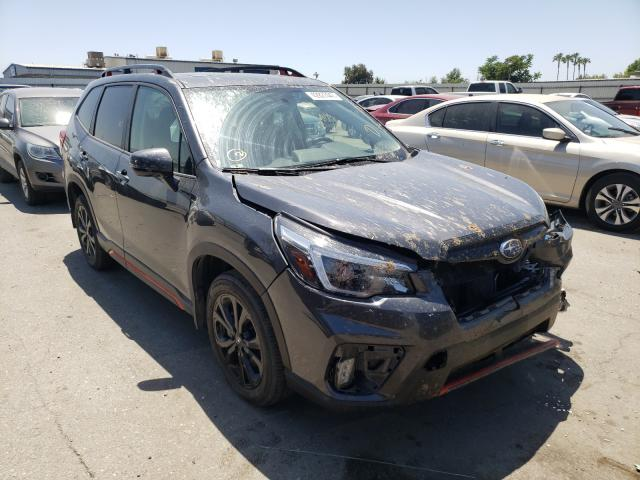 Salvage cars for sale from Copart Bakersfield, CA: 2021 Subaru Forester S