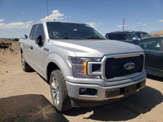 Salvage cars for sale from Copart Albuquerque, NM: 2018 Ford F150 Super