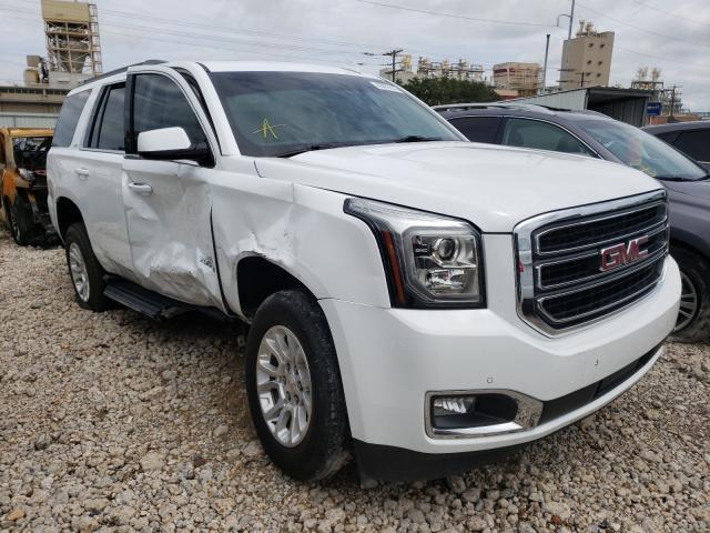 GMC salvage cars for sale: 2019 GMC Yukon SLT