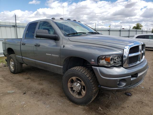Salvage cars for sale from Copart Portland, MI: 2005 Dodge RAM 2500 S